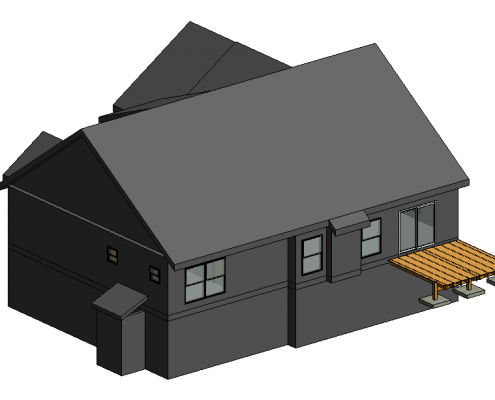 Revit 3D Modeling Services for House Projects