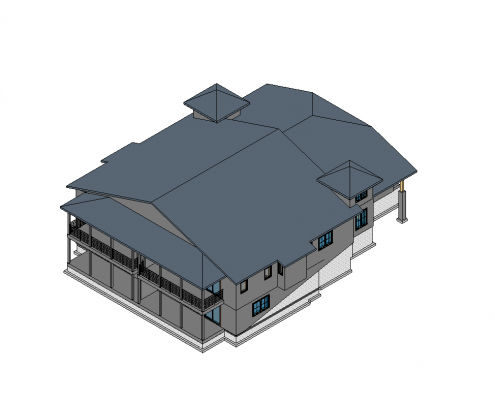BIM Construction for a House
