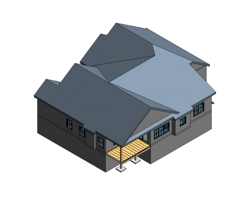 Revit BIM Services for an Architectural Project