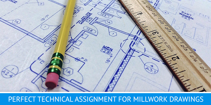 Developing Millwork Draftings for Interior Design