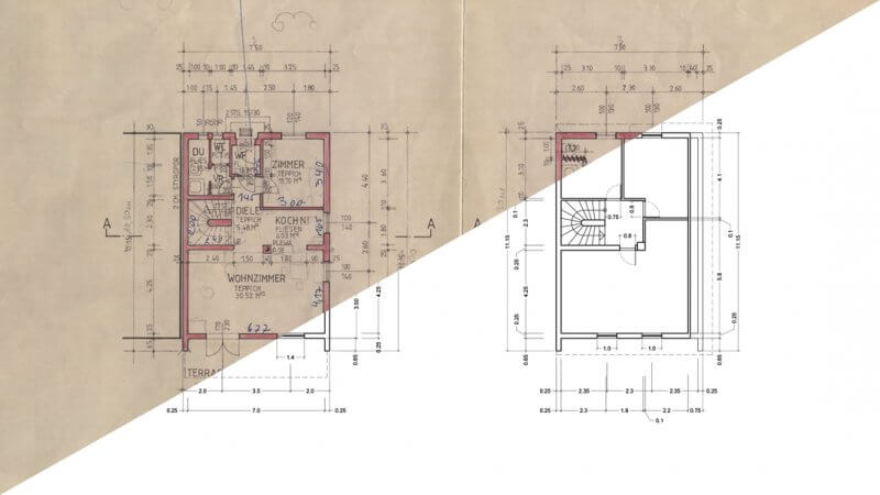 Digital Floor Plan is Better for Millwork Draftings than Hand-drawn