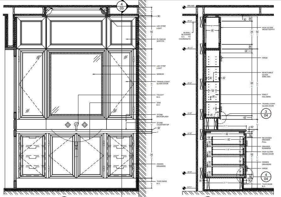 CAD Drawing Services for Furniture Design