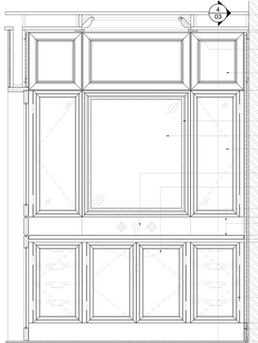 Elevation Drawings for Millwork Project