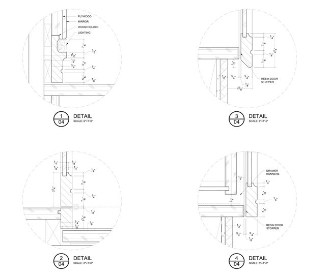 Detail Millwork Drawings