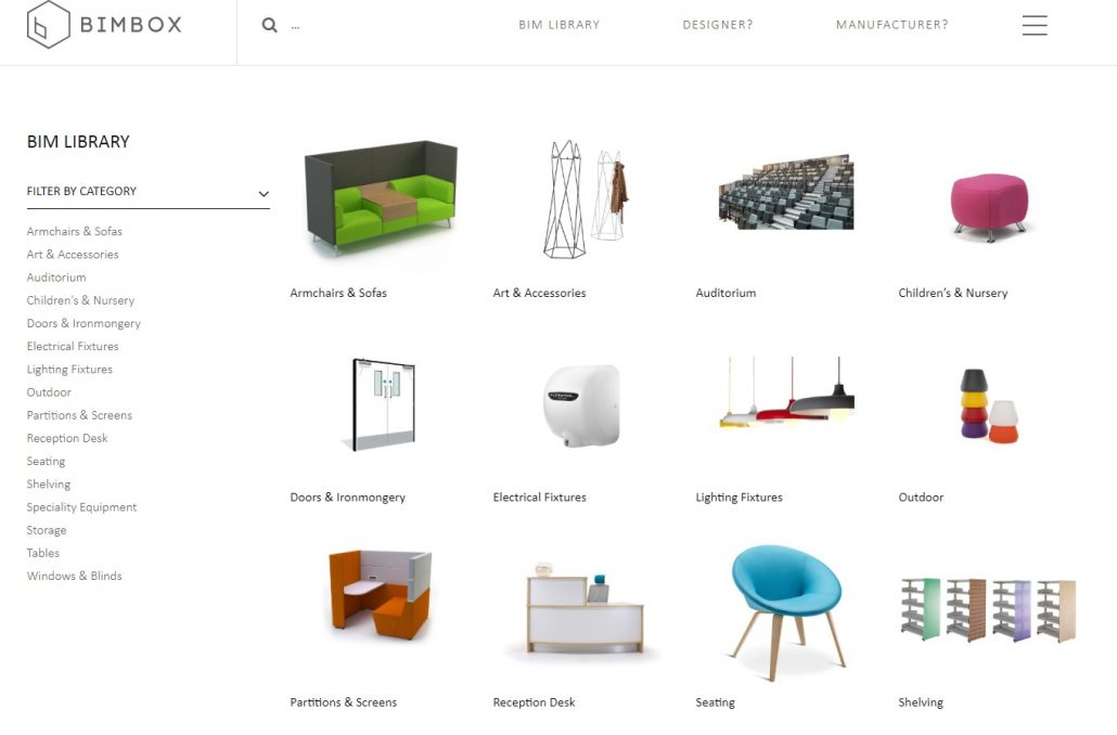 BIMbox Furniture Revit Families for Free
