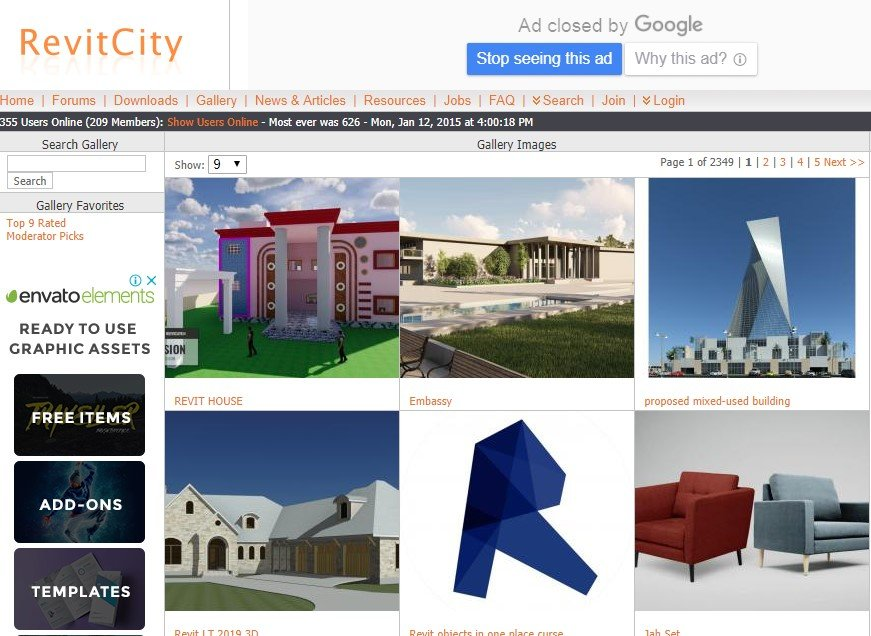 Revit 3D Models: 10 Best Websites to Download BIM Objects