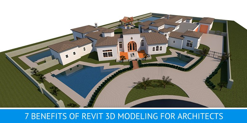 3D Modeling for a Complex Architectural Project