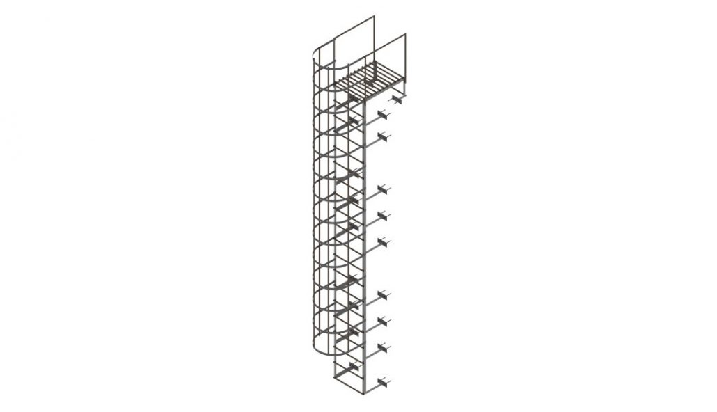 High-Quality 3D Modeling for a Ladder