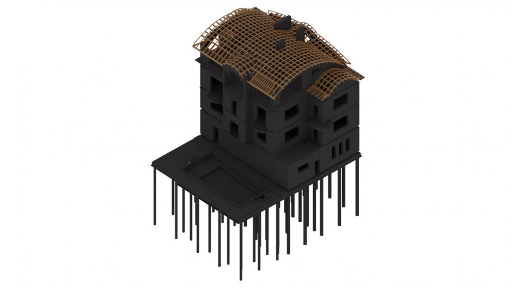 Revit 3D Visualization for Building Construction