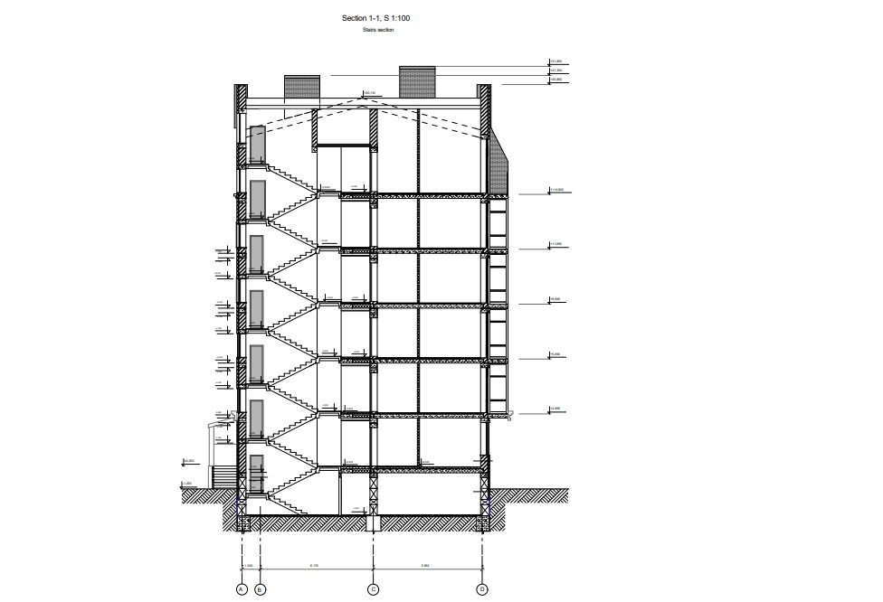 CAD Drawing Services for a Multi-Storey House