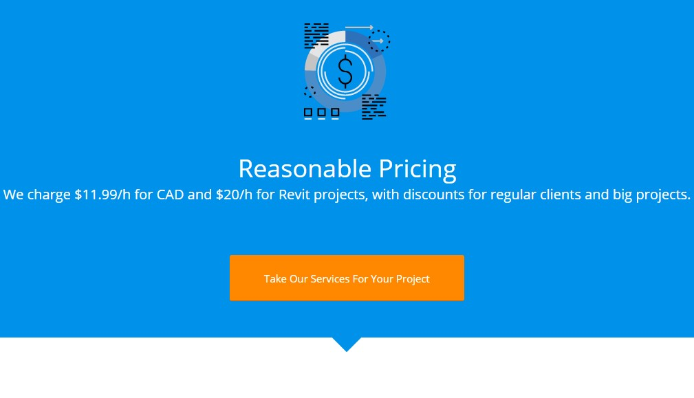 Outsource CAD Services' Pricing