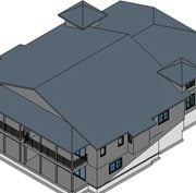 Revit Elements for an Architectural Project