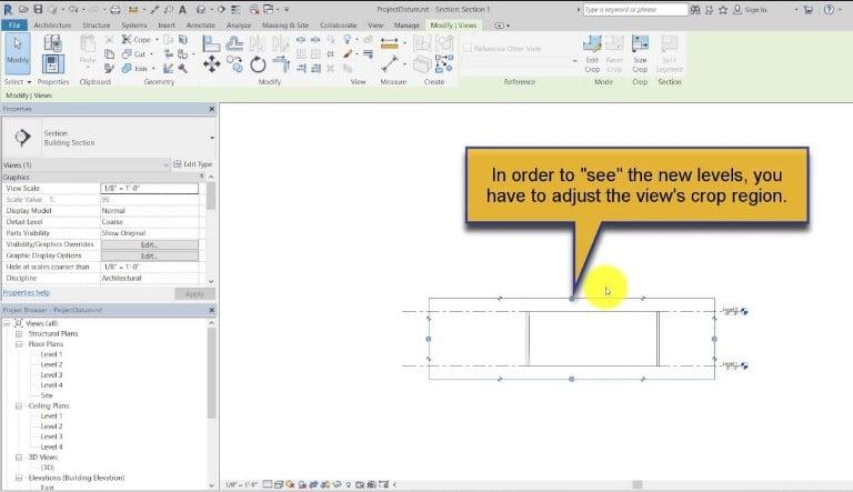 Datum Elements for Construction Models