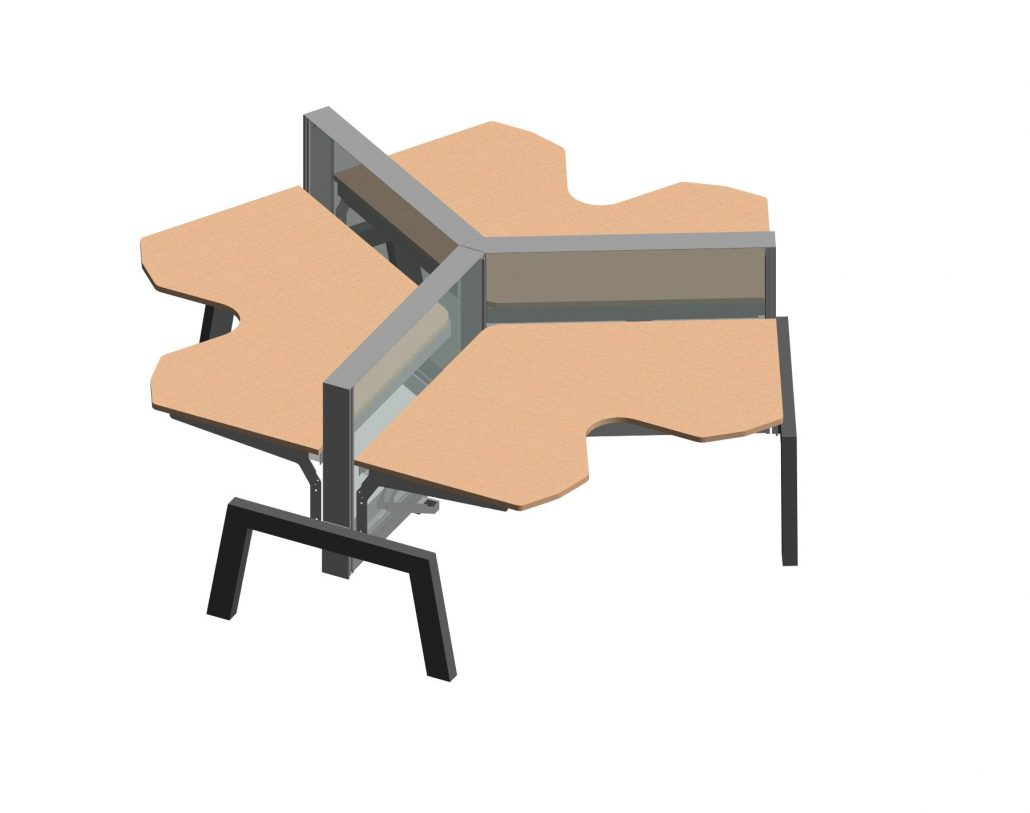 A Revit Family for a Furniture Design Project