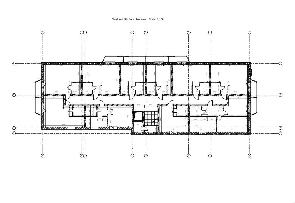 CAD Drafting for a Residential Building