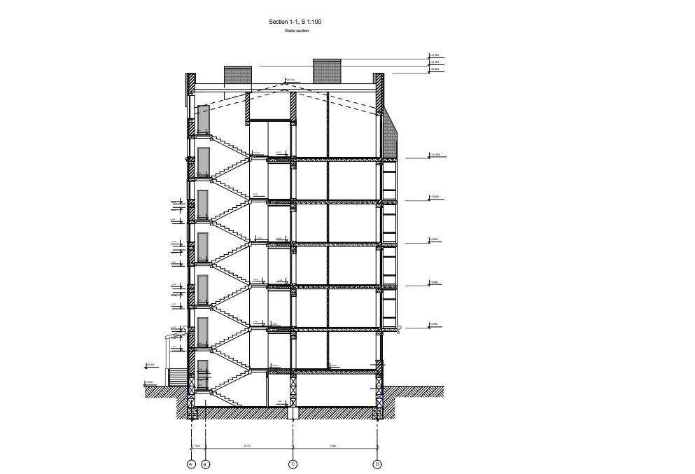 CAD Drafting for a Residential Building Project