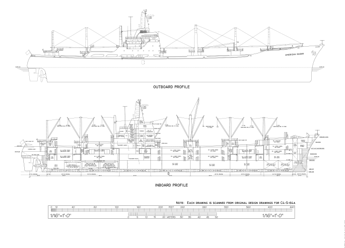 Marine CAD Drafting for a Yacht Design