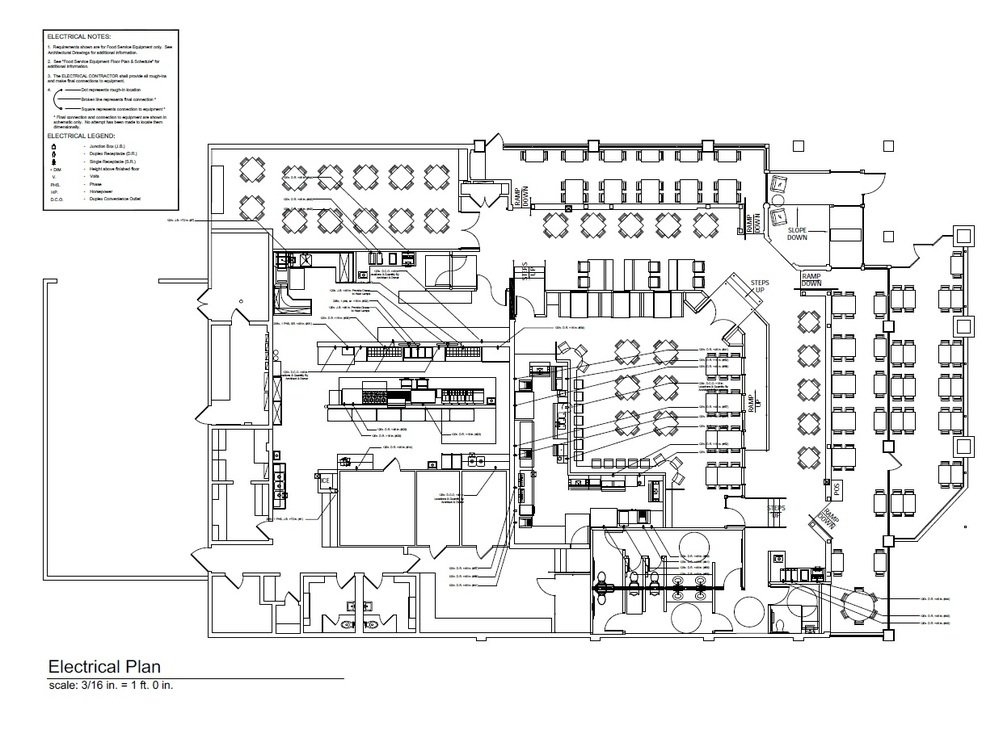 CAD Drawings for an Electrical System