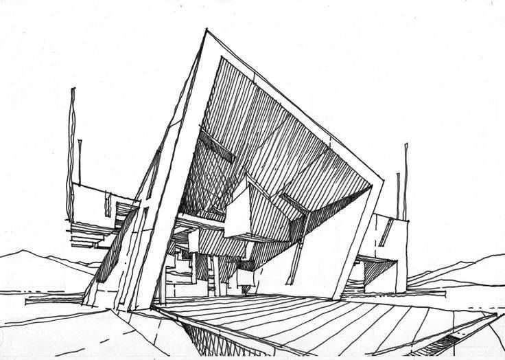 Reference Sketch for an Architectural Project