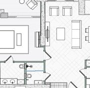CAD Floor Plan for a Design Project