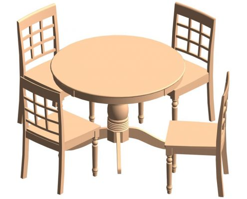 BIM Models for a Furniture Website