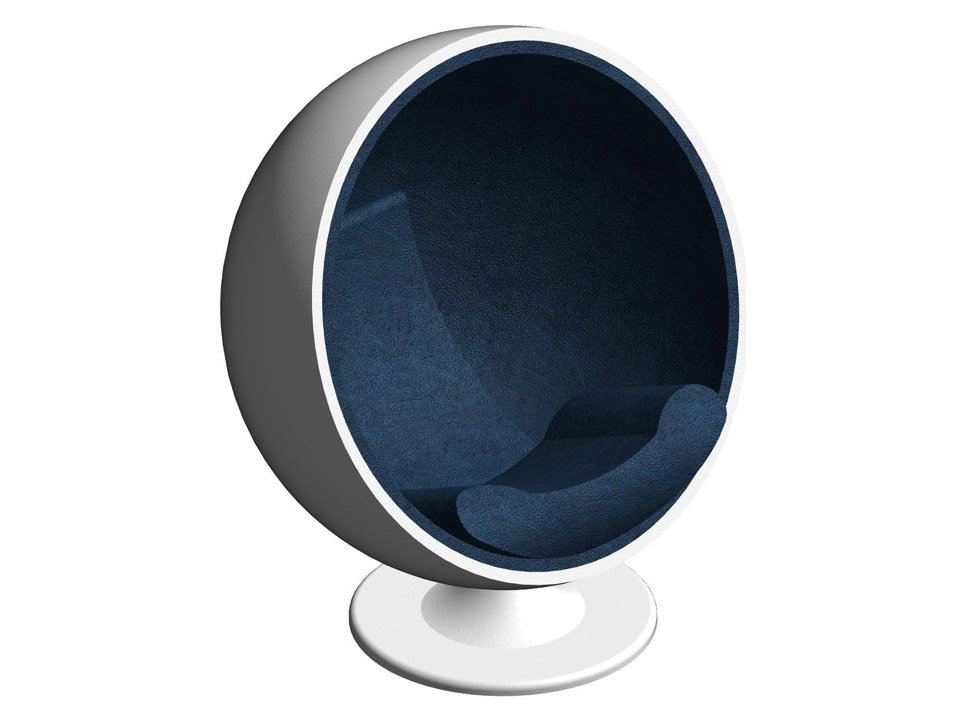 Ball Chair BIM Model for a Furniture Company