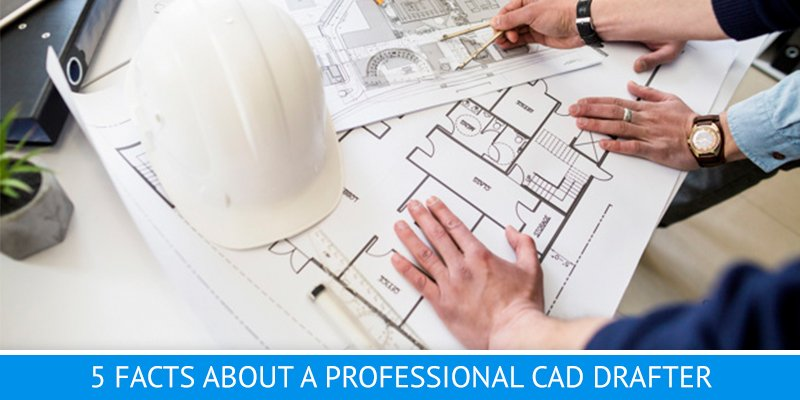 Cad Drafter 5 Facts About A Professional Draftsman