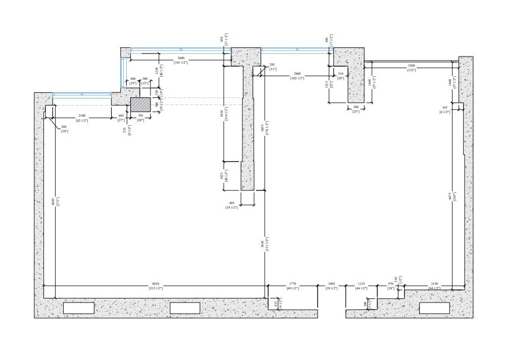 Measurements on 2D Floor Plans