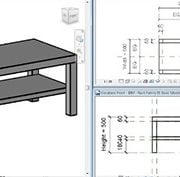 Furniture BIM for a Website