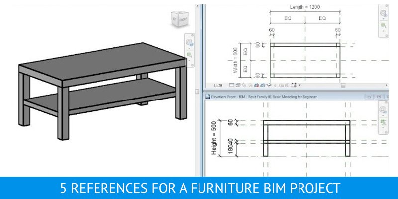 Furniture BIM for Website Downloading