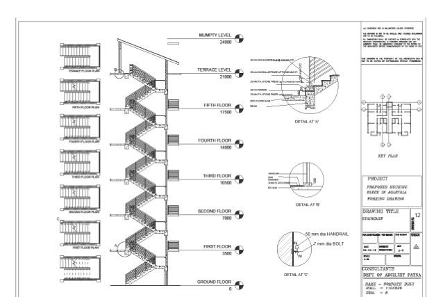 Detail CAD Drafting for a Construction Project