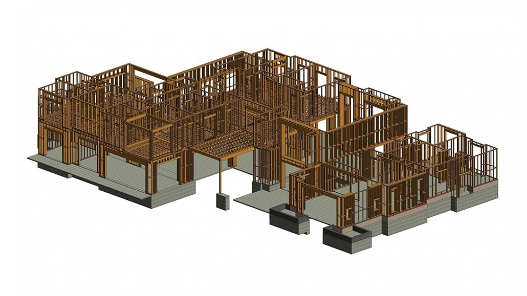 Construction BIM for an Architectural Project