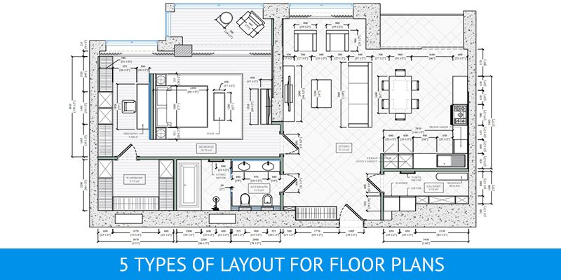 Interior Design Floor Plan for an Apartment