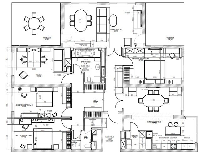 Floor Plan Services for an Interior Design Project