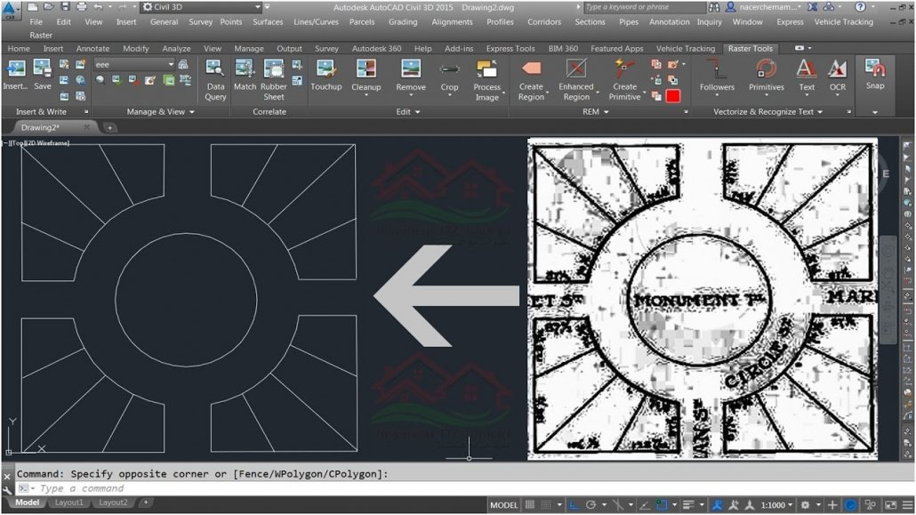 Converting Unclear Scans to a CAD Format