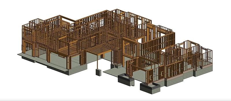BIM Construction in a CAD Program