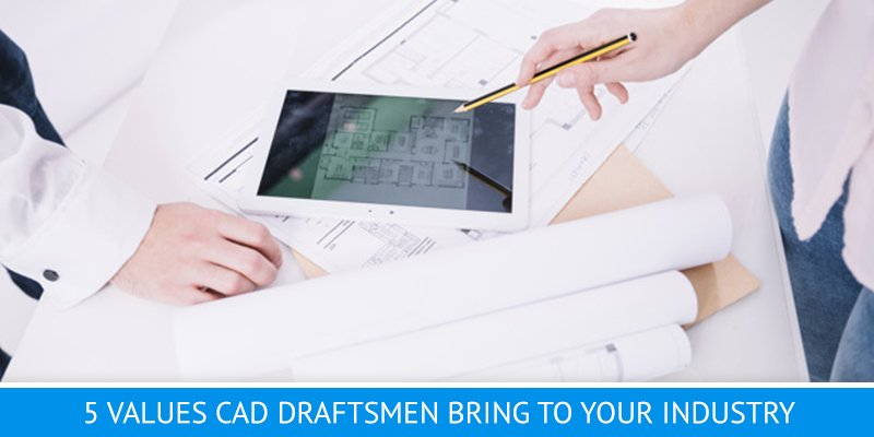 CAD Draftsmen Make Construction Drafts