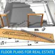Architectural Drawing for Real Estate