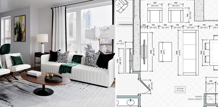 Drafting And Design Of An Interior Project Are They Different