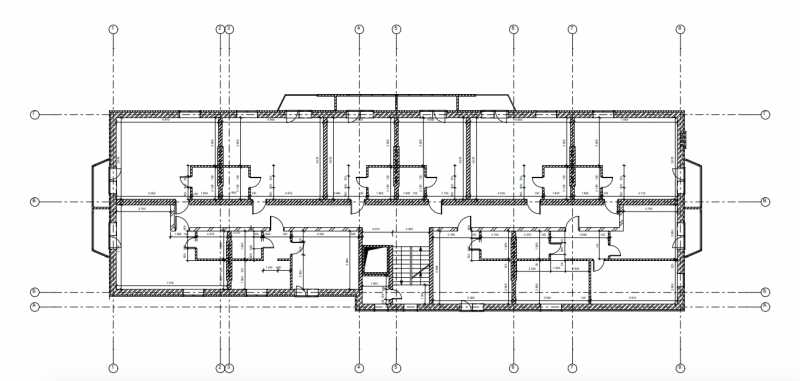 CAD Architectural Blueprint