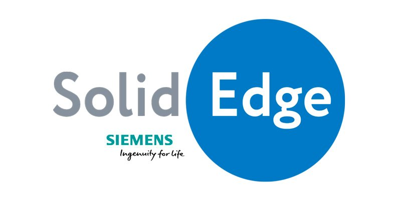 The Logo of 2D and 3D Drafting Soft SolidEdge