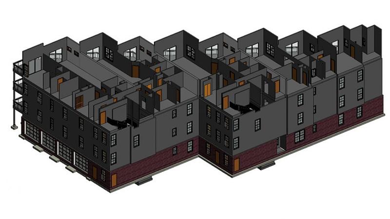 A 3D Model of Civil Building