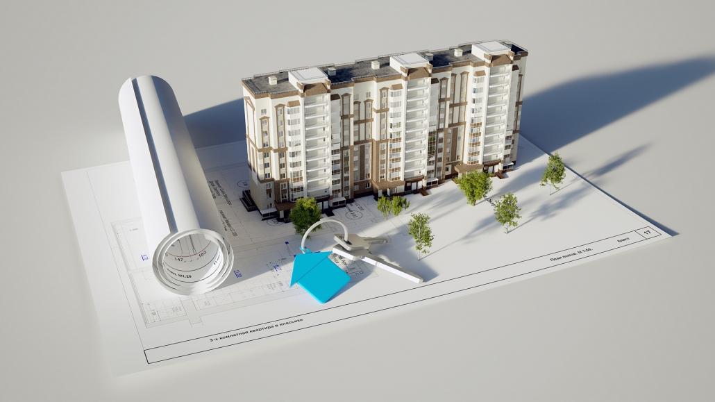 Revit 3D Model for a Residential Building