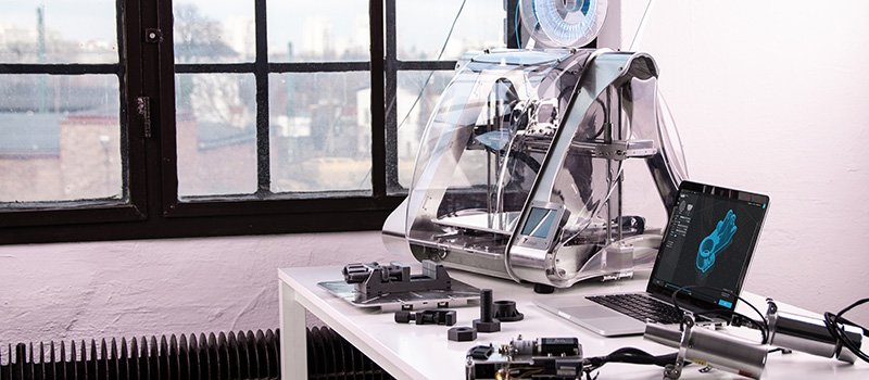 A 3D Printer Working on Creating Furniture