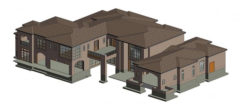 A Building 3D Object