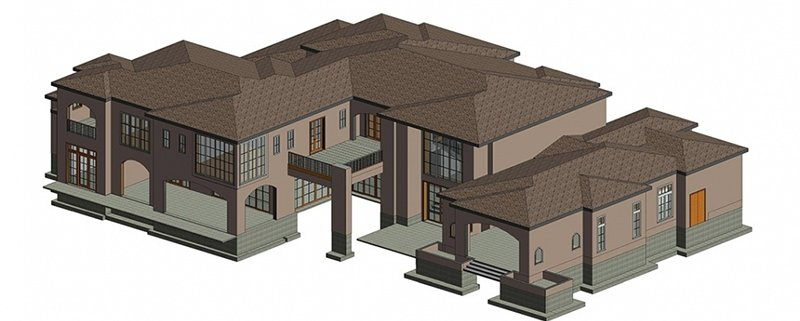 A Residence 3D Object