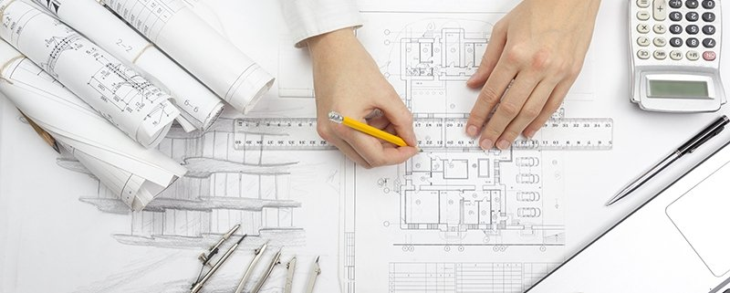 An Outsource Drafter Working with Architectural Drawings