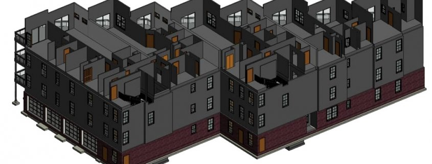 A BIM Model of an Architectural Project