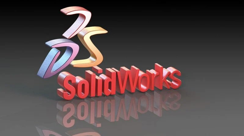 A 3D Logotype for CAD Program SolidWorks