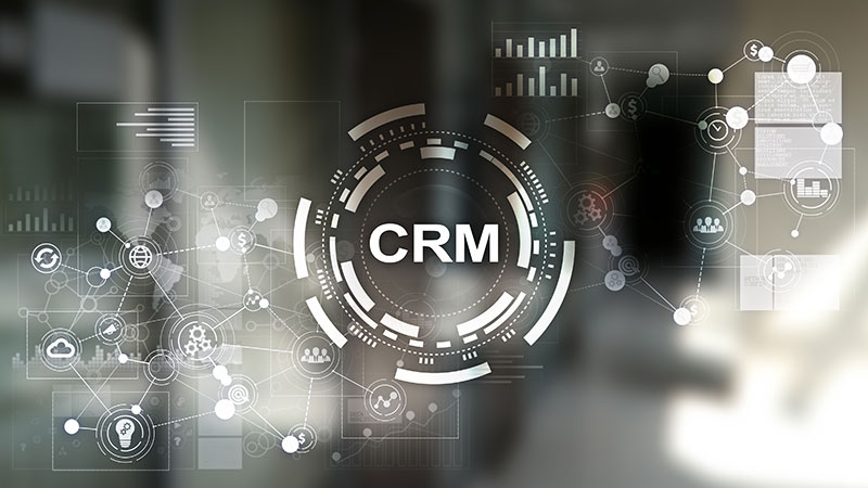 A Logo of CRM That Is Used for Communicating During CAD Drafting
